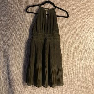 Brown Halter Dress from H&M